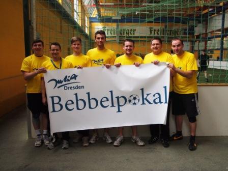 Bebbelpokal-Team der JuliA Dresden 2014